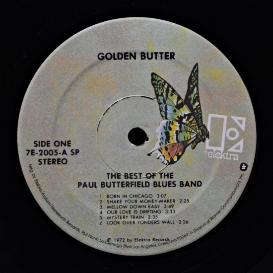 The Paul Butterfield Blues Band Golden Butter The