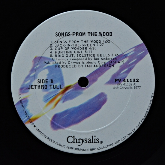 Jethro Tull Songs From The Wood Pv 41132 Album