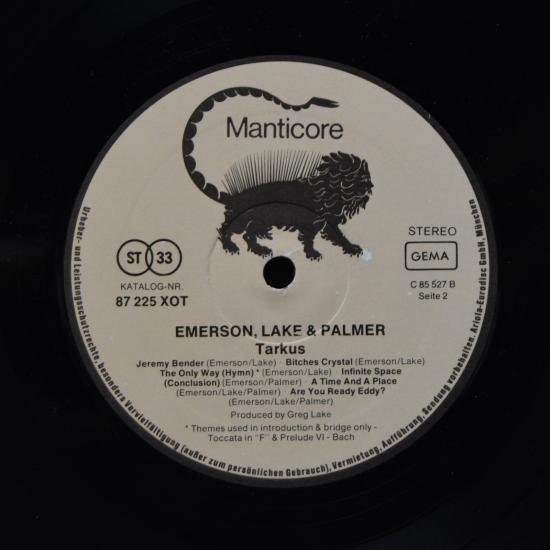Songtext von Emerson, Lake & Palmer - Tarkus Lyrics