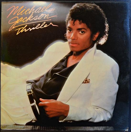 Michael Jackson Thriller 1113 3674 Album Black Vinyl