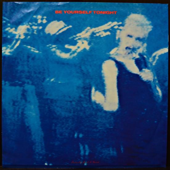 Eurythmics Be Yourself Tonight Pl 70711 Album Black