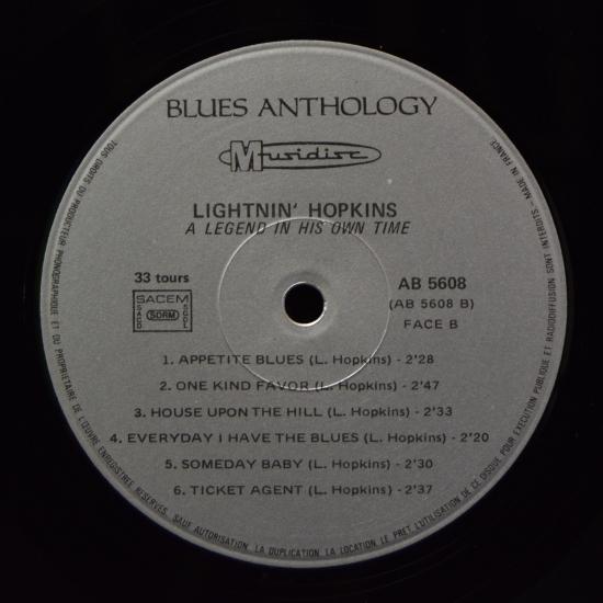 Lightnin Hopkins A Time For Blues