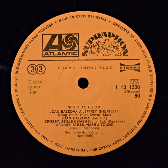 Va Woodstock 1 13 1338 40 3 Lp Album Club Edition Box