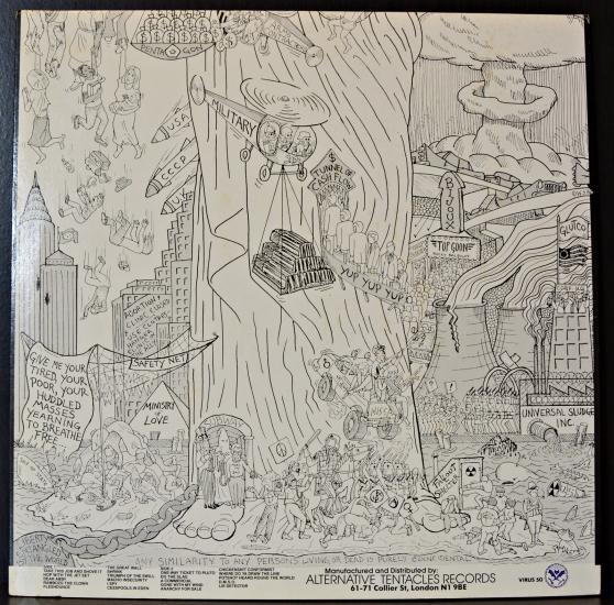 Dead Kennedys Bedtime For Democracy Virus 50 Lp Album