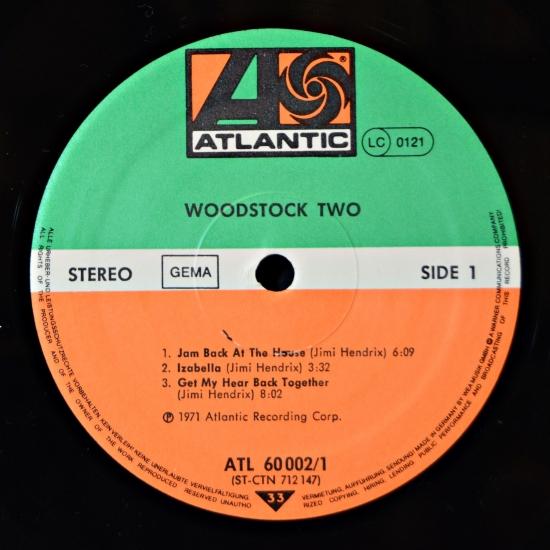 Va Woodstock Two Atl 60 002 2 Lp Live Album Reissue