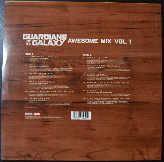 Va Guardians Of The Galaxy Awesome Mix Vol 1
