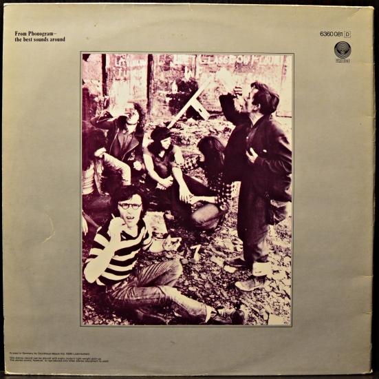 The Sensational Alex Harvey Band Framed 6360 081 Album