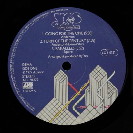Yes Going For The One Atl 50 379 Album Black Vinyl