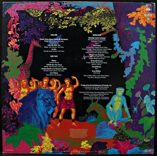 Santana Guitar Heaven Vinyl Carlos Santana Moonflower
