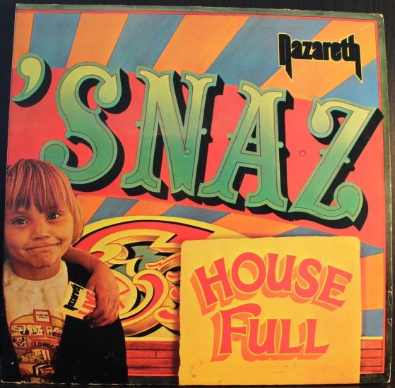 Nazareth Snaz 3220095 2 Lp Live Album Black Vinyl