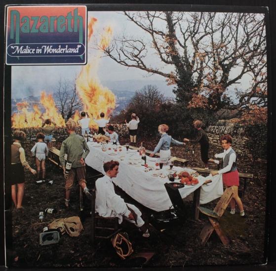Nazareth Malice In Wonderland 2220342 Album Black