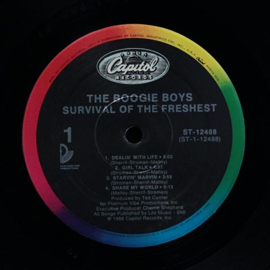Boogie Boys - Dealin' With Life / A Fly Girl