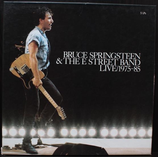 Bruce Springsteen & The E Street Band - Live/1975-85 CBS ...  Bruce Springste...