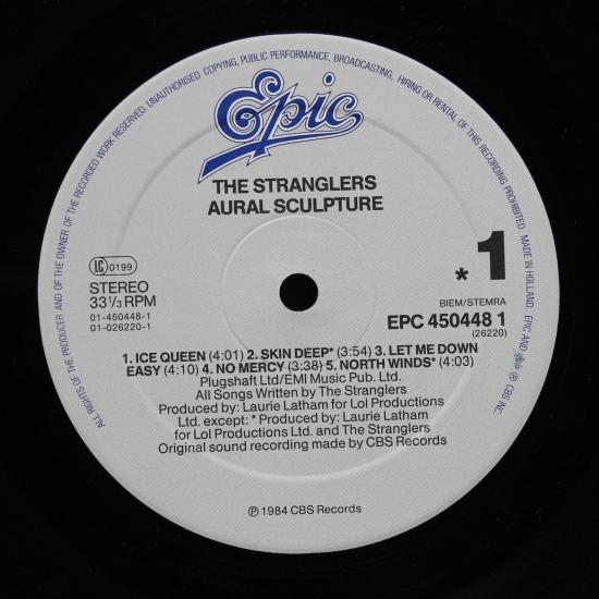 The Stranglers Aural Sculpture Epc 450448 1 Album