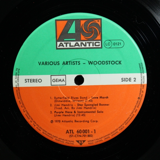 Va Woodstock Music From The Original Soundtrack And