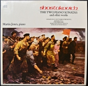 Dmitri Shostakovich / Martin Jones - The Two Piano Sonatas and other works  AVM 1003