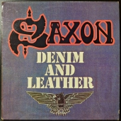 Saxon ‎- Denim And Leather  67.811