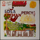 The Kinks ‎- Lola, Percy & The Apemen Come Face To Face With The Village Green Preservation Society... Something Else! GHD 50