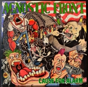 Agnostic Front ‎- Cause For Alarm  JUST 3
