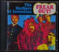 The Mothers Of Invention ‎- Freak Out!  CD ZAP 1