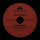 King Crimson Earthbound 2344 074 Live Album Reissue