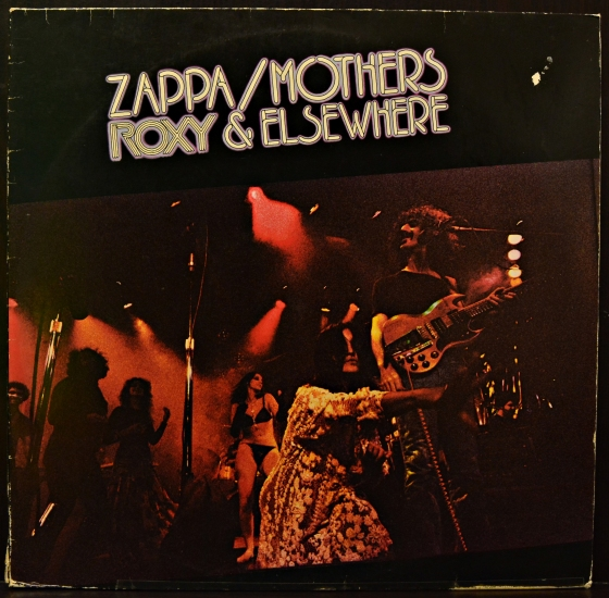 Zappa Mothers Roxy Amp Elsewhere Dis 89 200 2 Lp Live