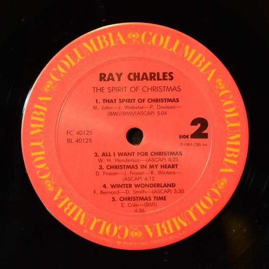 ray charles the spirit of christmas fc 40125 usa 1985 - Ray Charles The Spirit Of Christmas