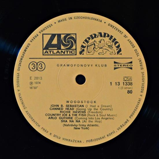 Va Woodstock 1 13 1338 40 3 Lp Live Album Box Set
