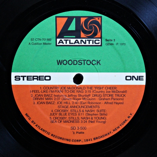 VA - Woodstock - Music From The Original Soundtrack And More SD 3